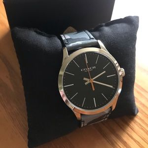 Men's Coach camo watch previous buyer backed out
